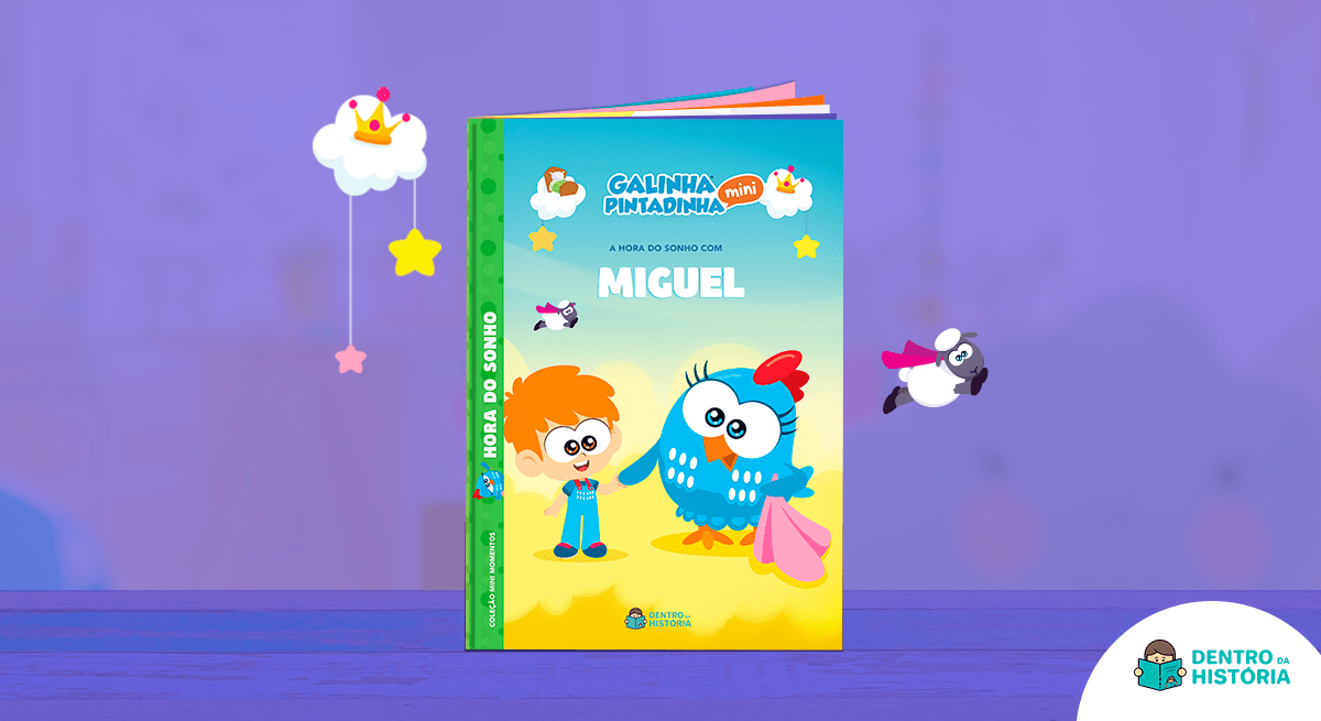 capa do livro galinha pintadinha hora do sonho