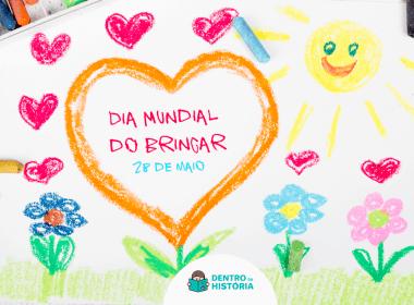 brincadeiras tradicionais desenho de giz de cera para o dia internacional do brincar