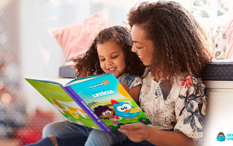 benefícios dos livros personalizados para crianças