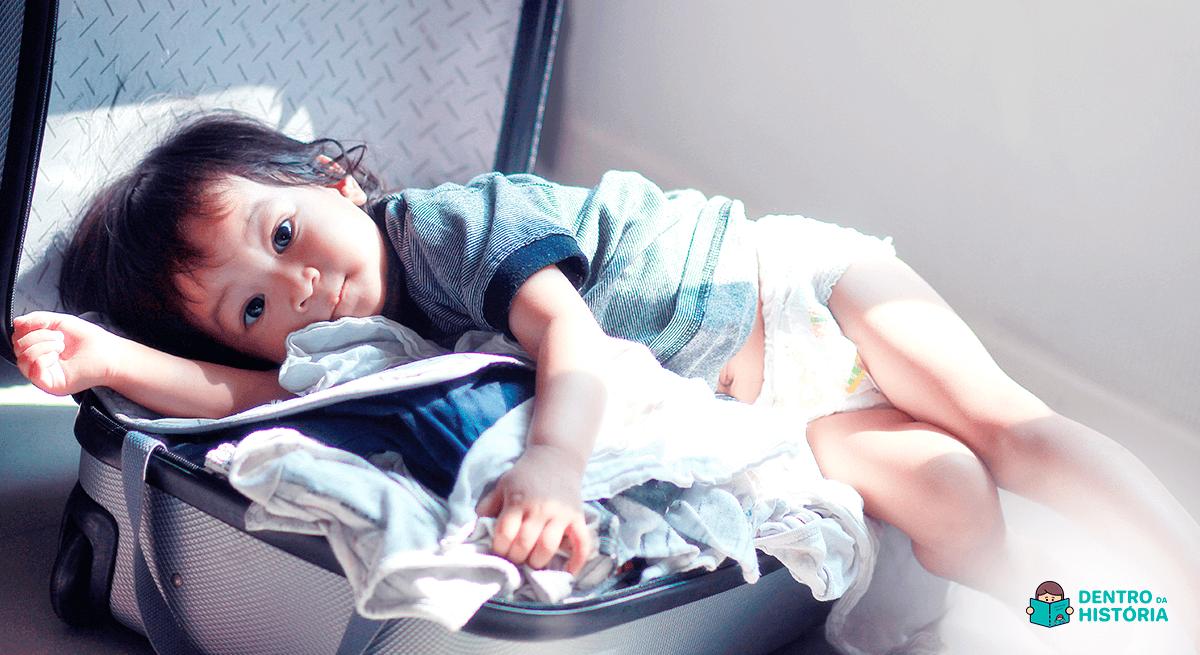 férias viajar com crianças o que levar na mala dos filhos