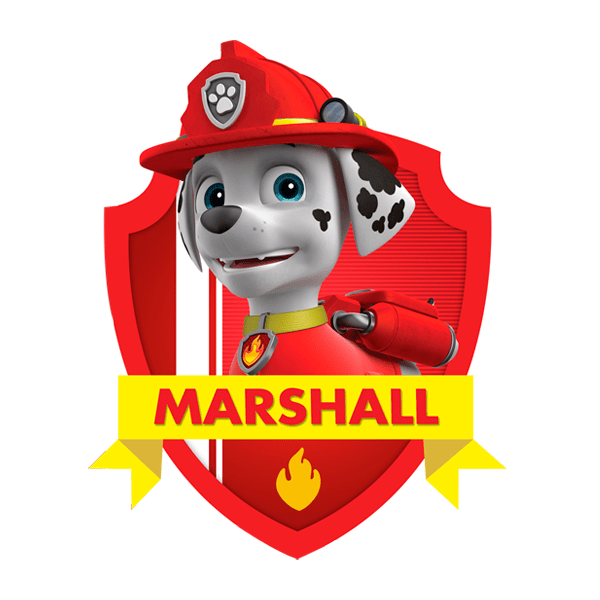 marshall personagens da patrulha canina