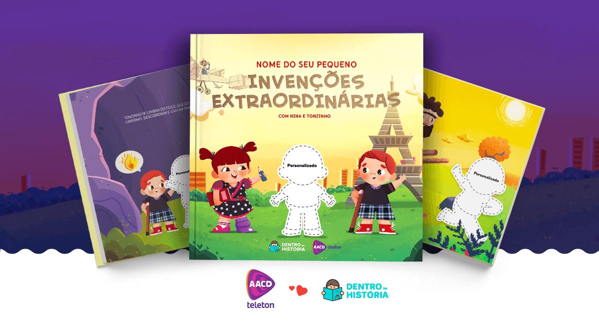 Invenções Extraordinárias: o livro personalizado do Teleton 2018