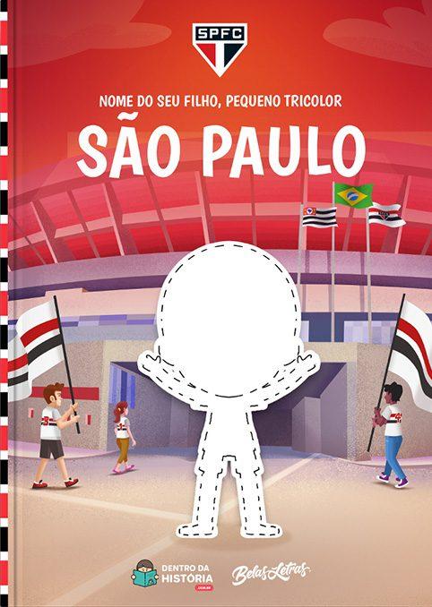 São Paulo | Meu Pequeno São Paulino | Livro Infantil Personalizado