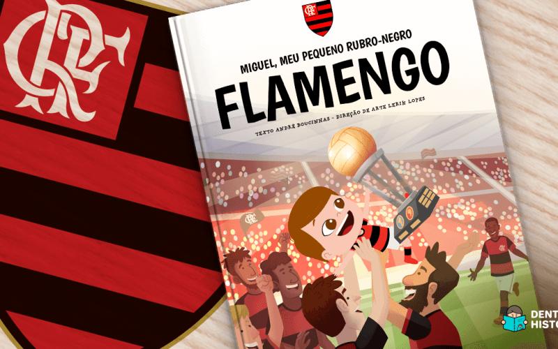 Livro personalizado do Flamengo