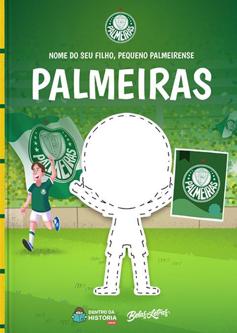 Palmeiras | Meu Pequeno Palmeirense | Livro Infantil Personalizado