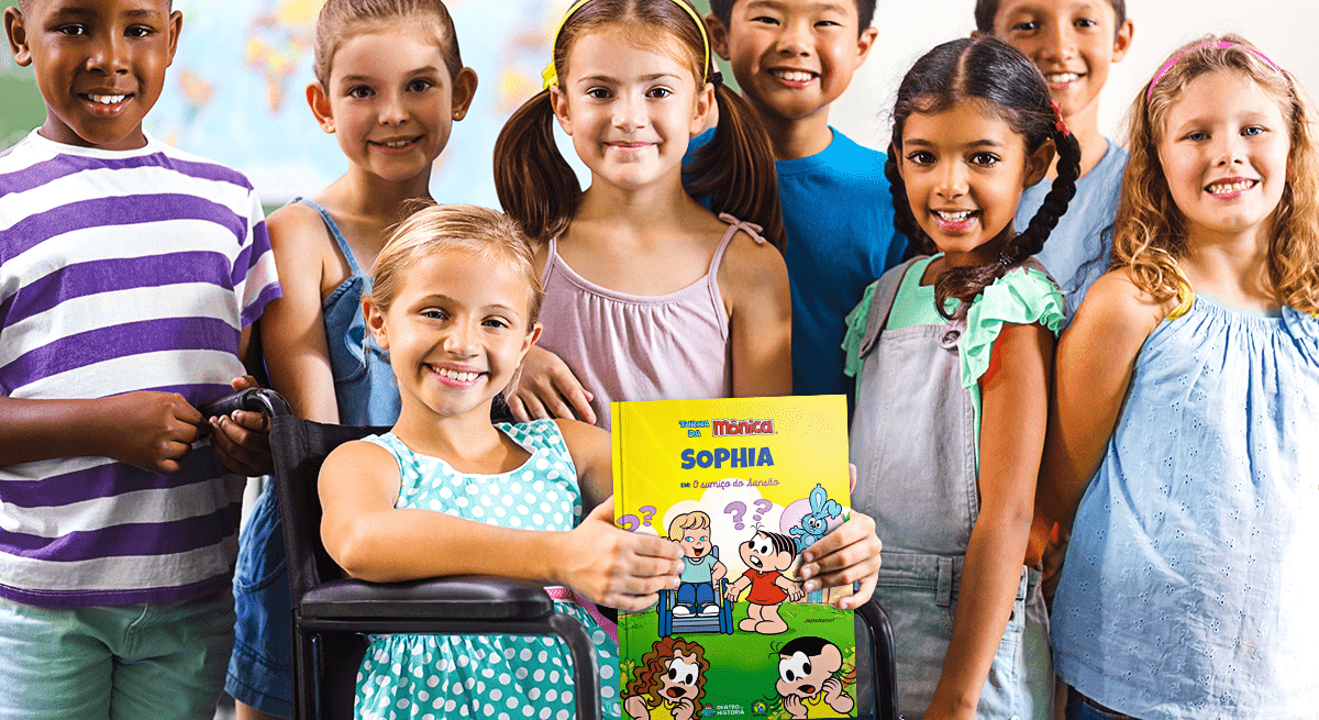 Crianças protagonistas nos livros personalizados