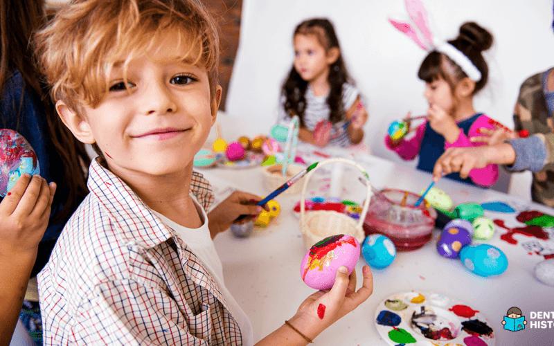 Atividades de páscoa para as crianças