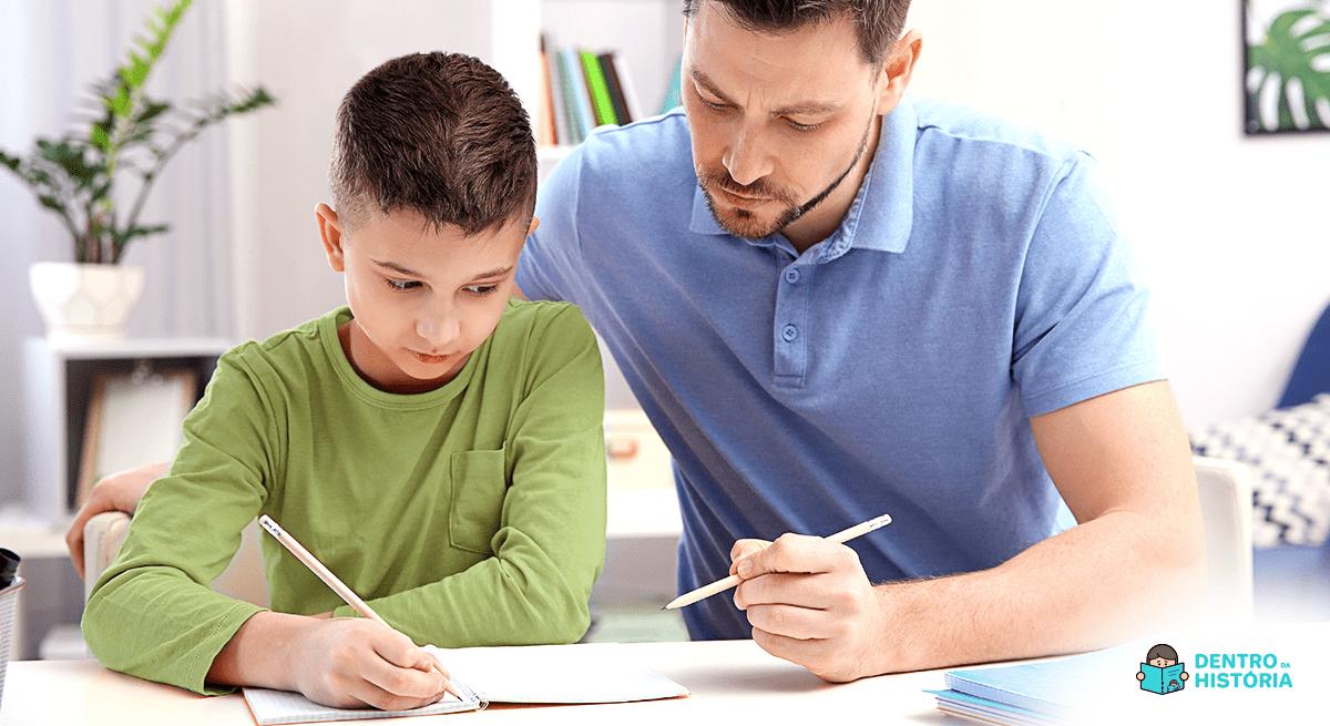 Seu filho tem dificuldade em Português? Veja 5 maneiras de ajudá-lo.