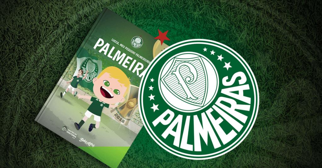 Livro personalizado do Palmeiras