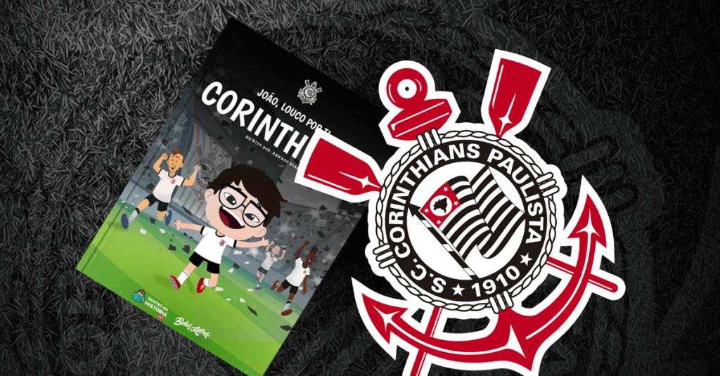 Livro personalizado do Corinthians