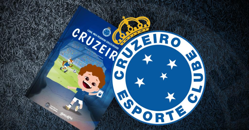 Livro personalizado do Cruzeiro