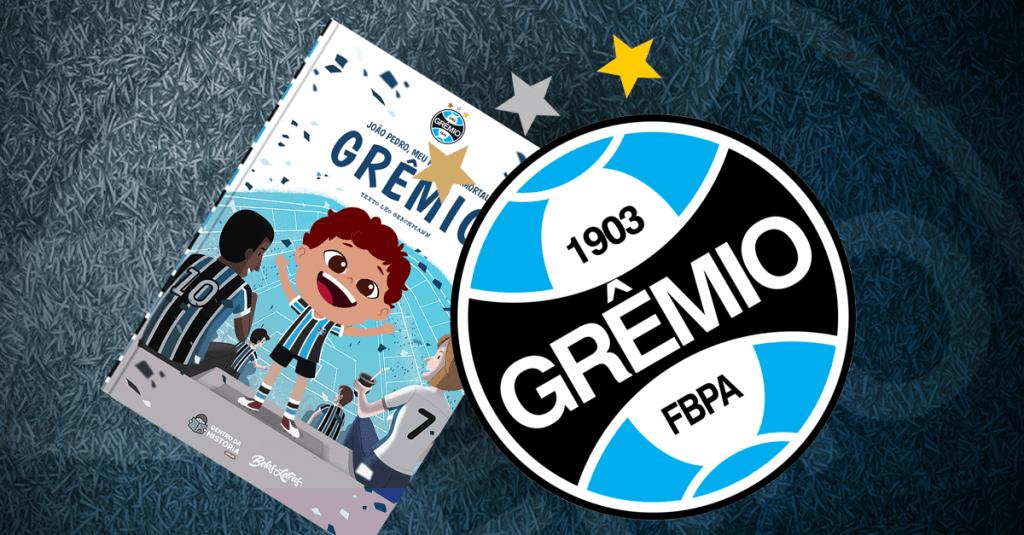 Livro personalizado do Grêmio