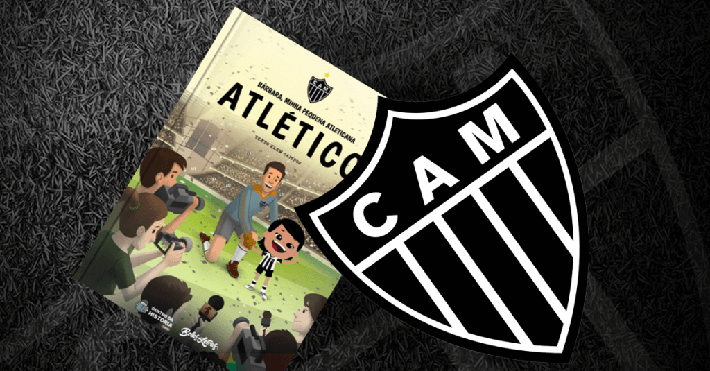 Livro personalizado Atlético Mineiro