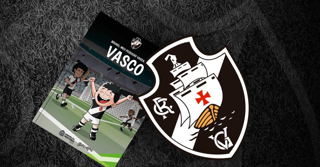 Livro personalizado do Vasco