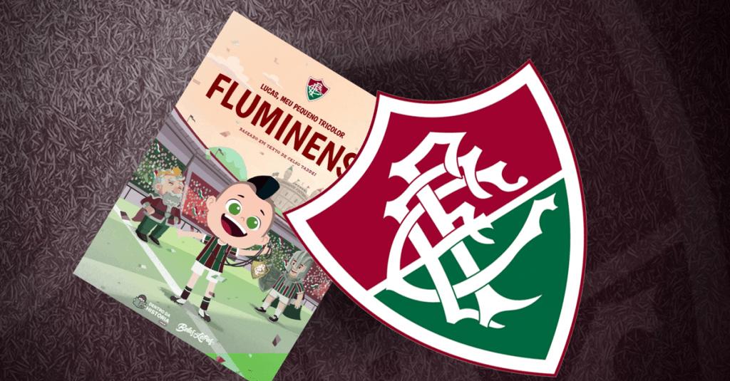 Livro personalizado do Fluminense
