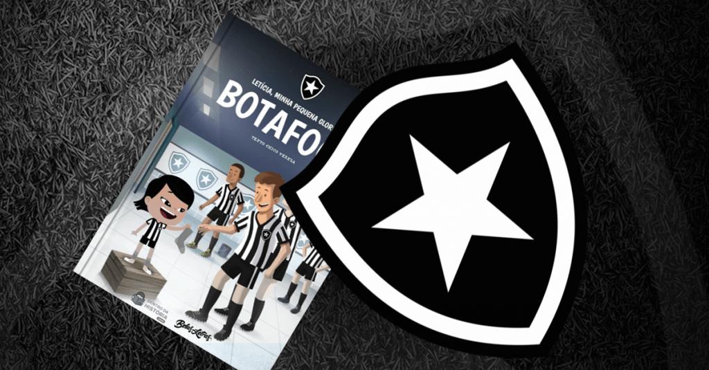 Livro personalizado do Botafogo