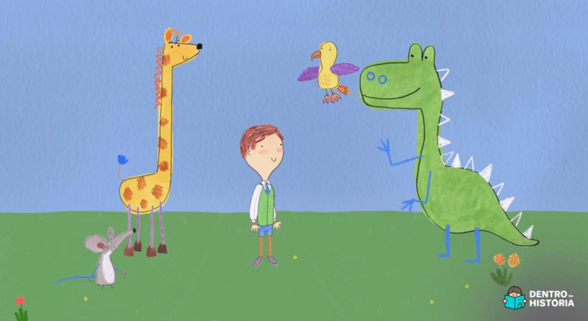Desenho sobre autismo incentiva a inclusão de crianças com TEA