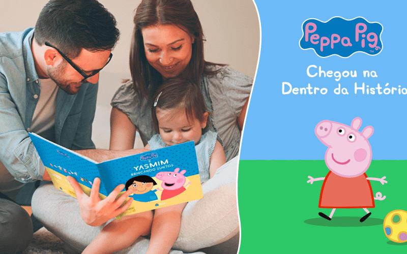 Leitura em Família com a Peppa Pig