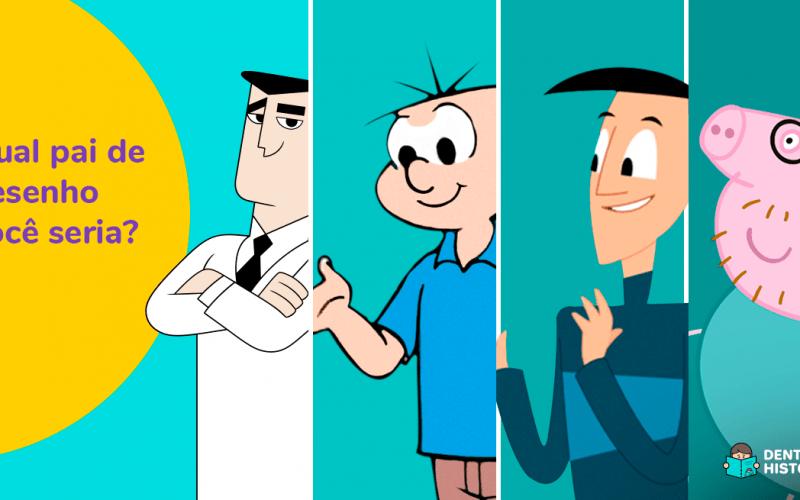 Teste: Qual pai de desenho animado você seria: Papai Pig, Professor Utônio, Seu Cebola ou Pai da Luna?