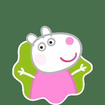 Susie Ovelha, amiga da Peppa