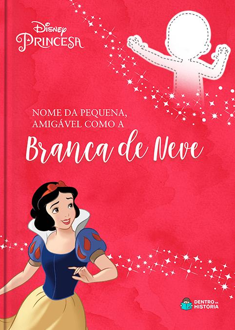 Branca de Neve | Livro Personalizado Disney