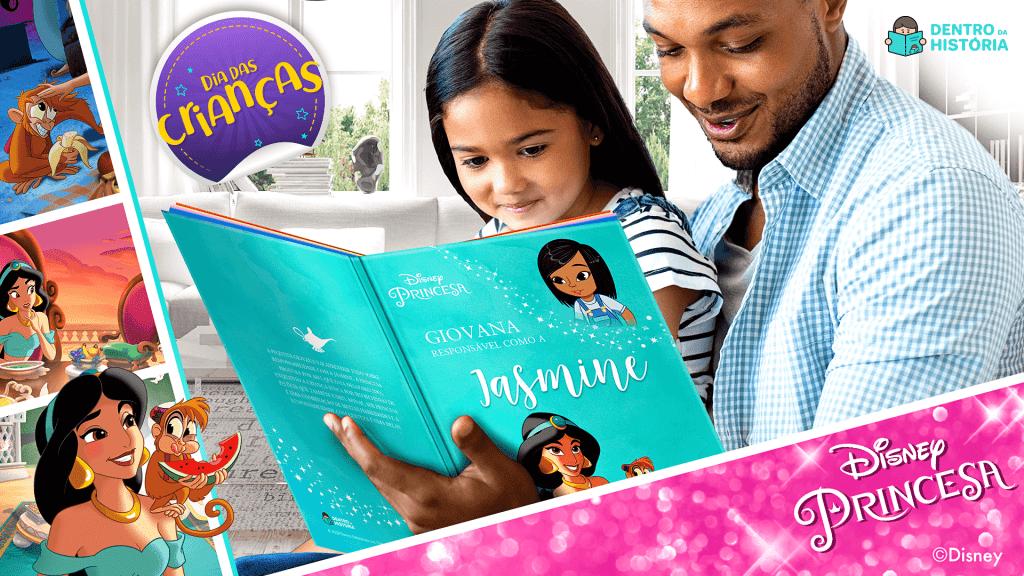 Livro da Jasmine - Dentro da História