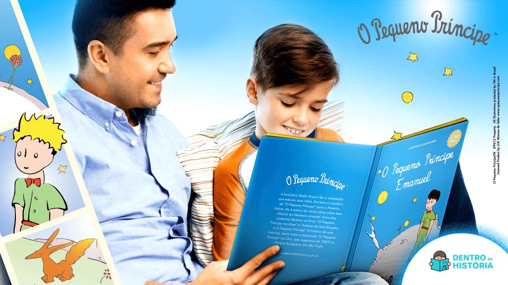 O Pequeno Príncipe - Livro Personalizado