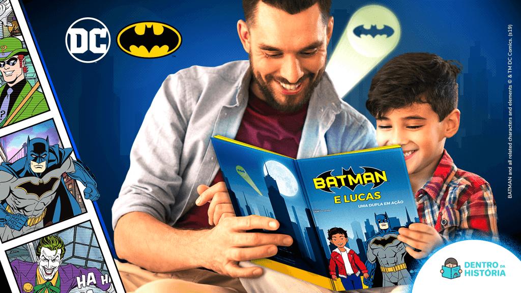 Livro Personalizado do Batman - Presente Dia das Crianças