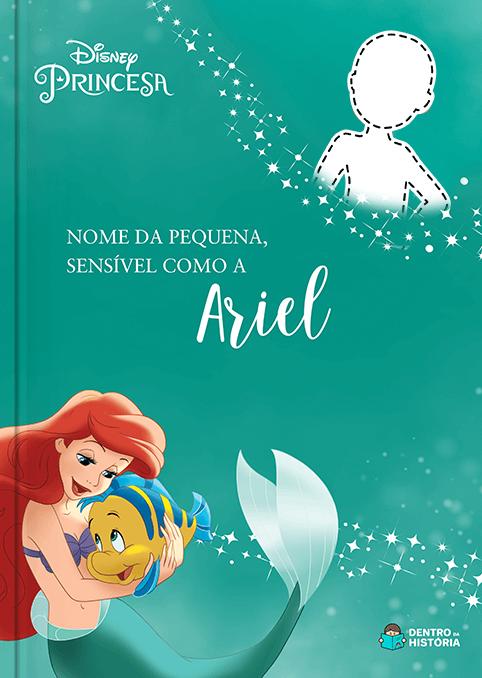 Ariel | Livro Personalizado Disney