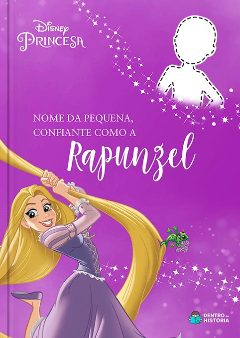 Rapunzel | Livro Personalizado Disney