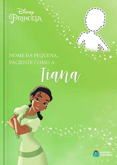 Princesa Tiana | Livro Personalizado Disney