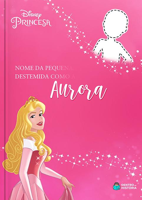 Princesa Aurora | Livro Personalizado Disney