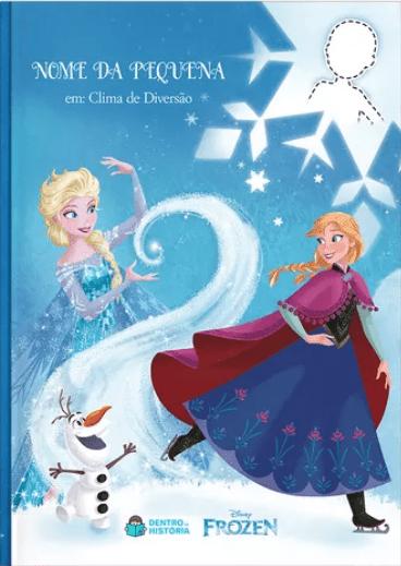 Frozen | Livro Personalizado Disney