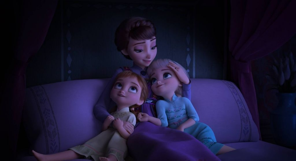 Rainha Iduna, mãe de Elsa e Anna