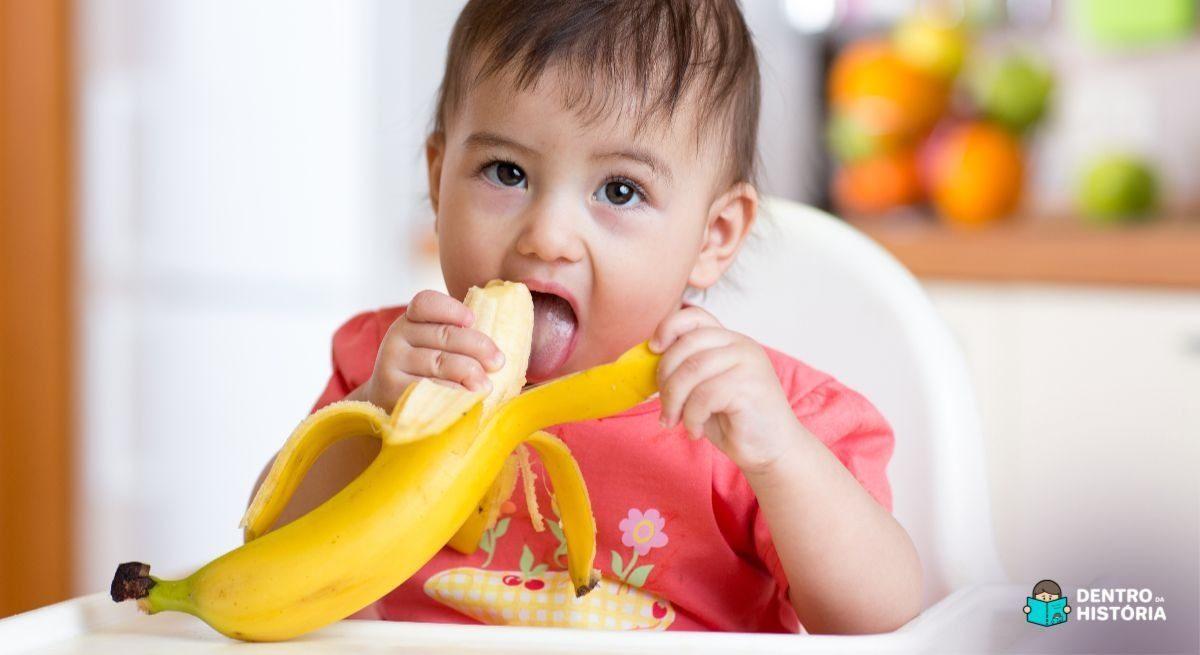 Os benefícios de cada fruta para os bebês