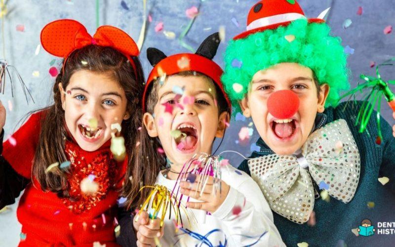 Fantasias de carnaval para as crianças