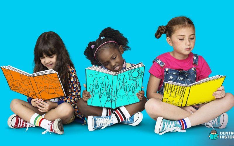 Meninas protagonistas em livros infantis