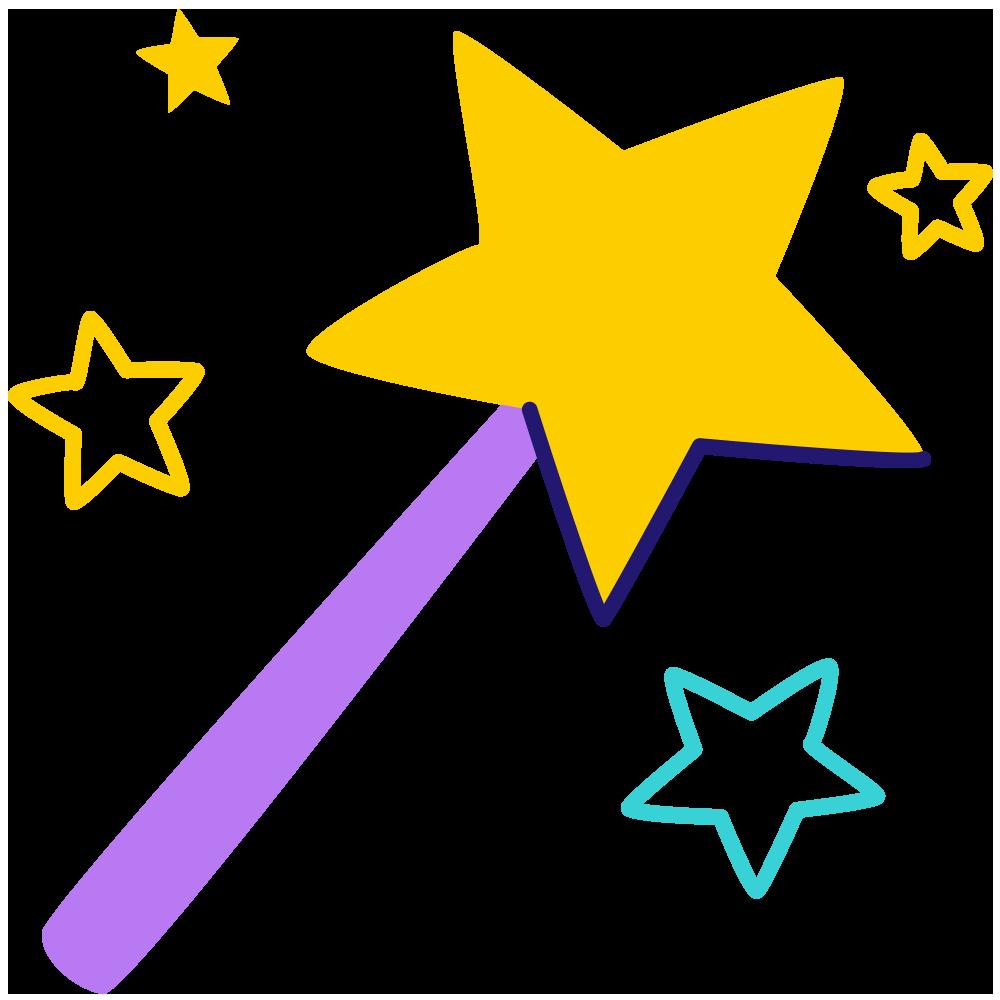 Ícone varinha mágica
