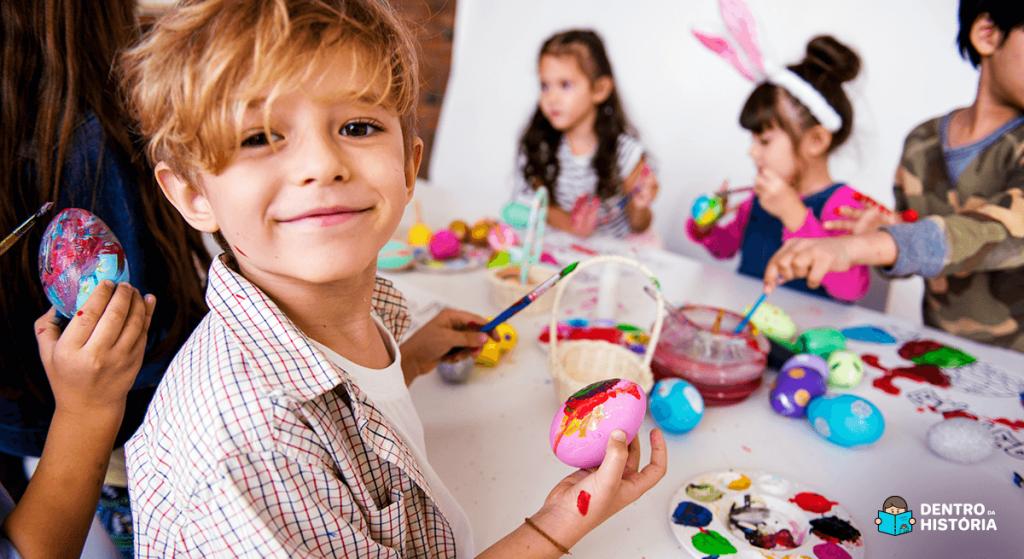 Atividades de Páscoa para fazer com as crianças