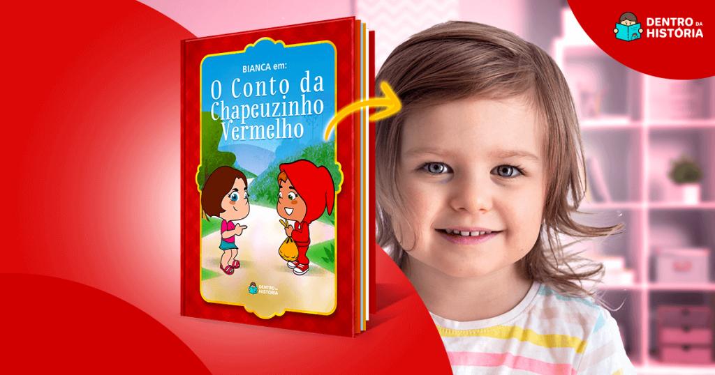 Livro da Chapeuzinho Vermelho