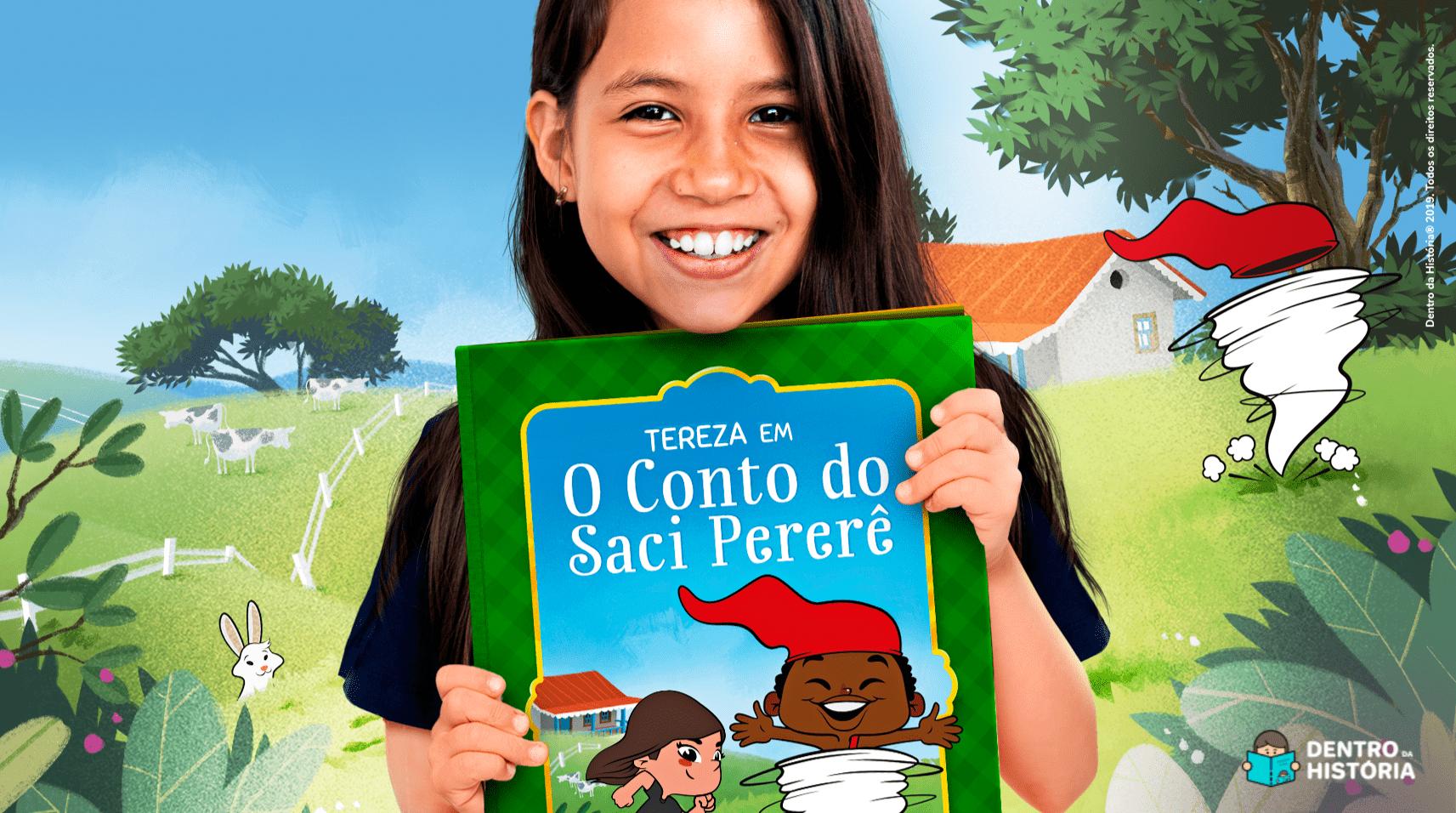 A lenda do Saci Pererê para crianças