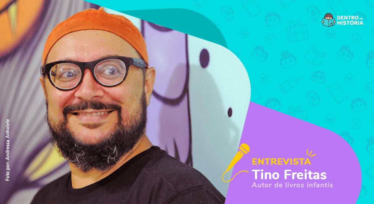 Leitura e fantasia na infância: entrevista com Tino Freitas
