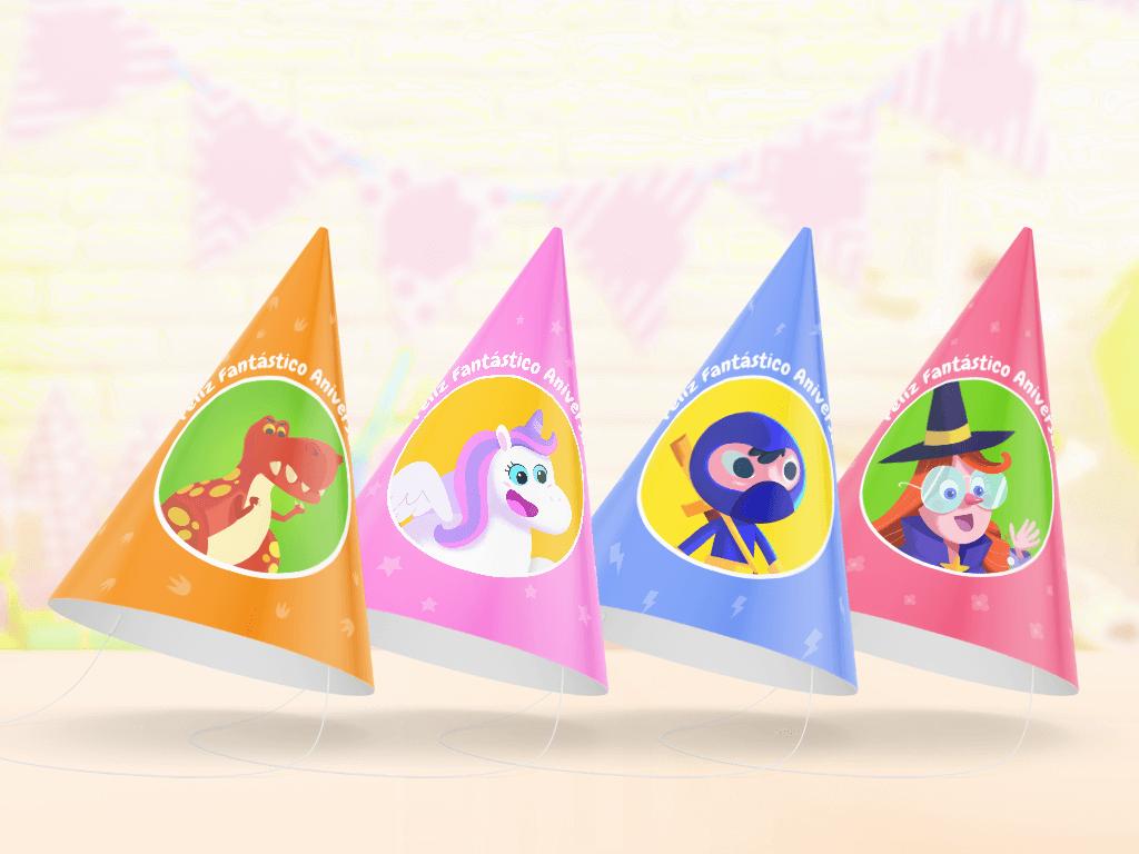 Chapéus de festa