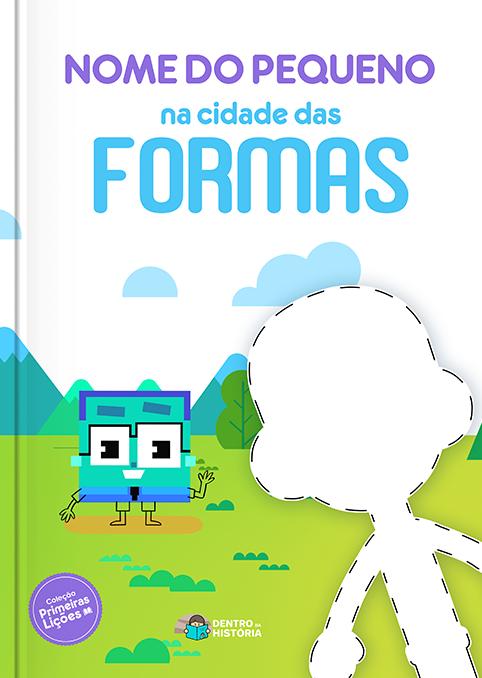 Cidade das Formas   Livro Infantil Personalizado