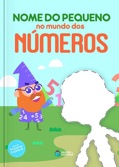Mundo dos Números   Livro Infantil Personalizado