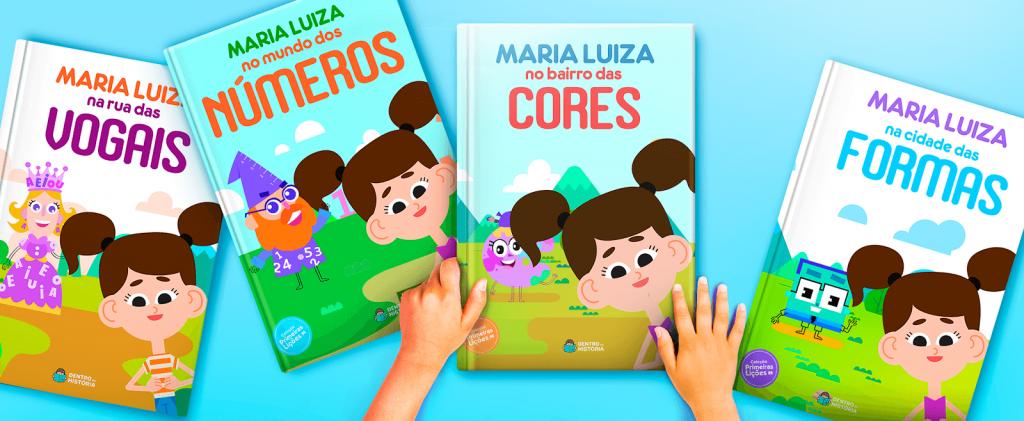 Livros para aprender as letras, números, cores e formas