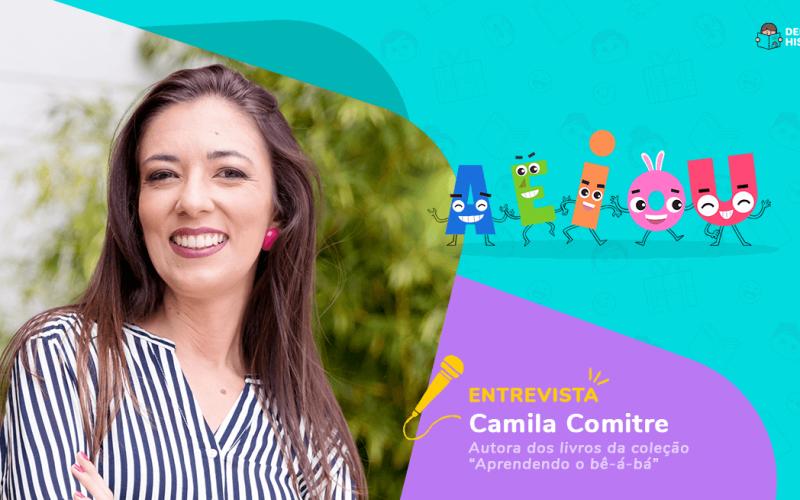 Camila Comitre, autora dos Livros Personalizados