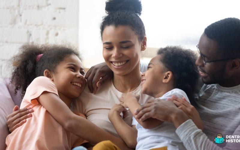 Como a família pode acolher as crianças