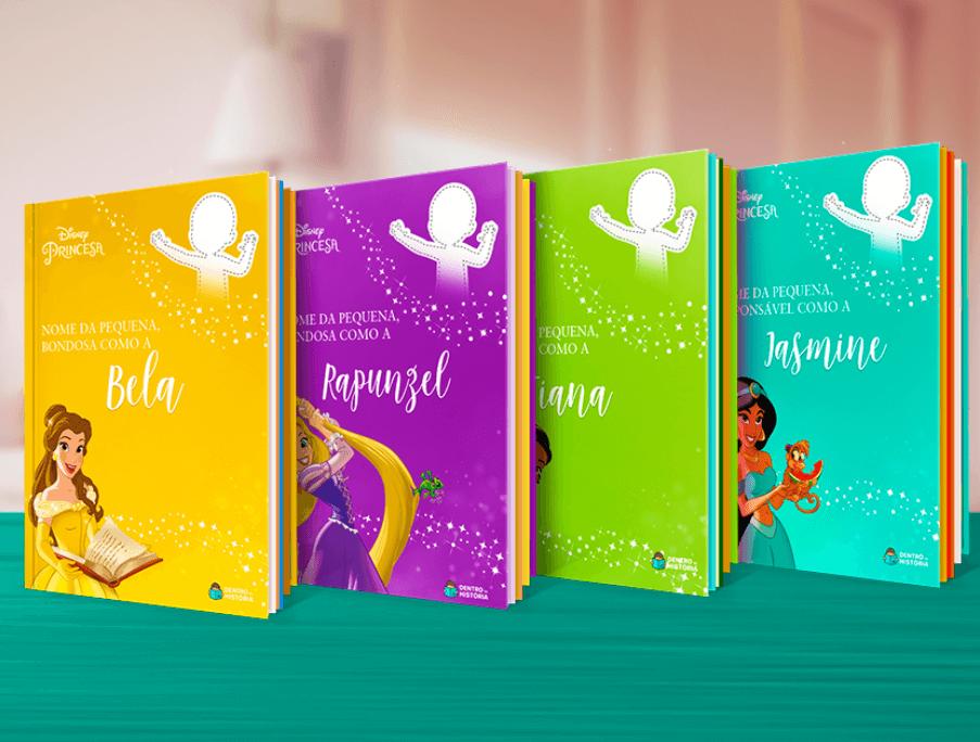 Livros Personalizados Disney