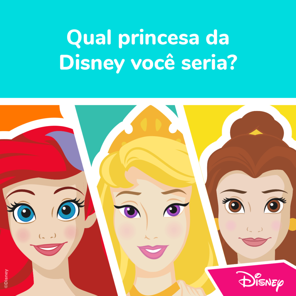 Teste Princesas da Disney